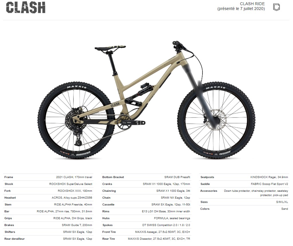 Commencal Clash 2021 Ride