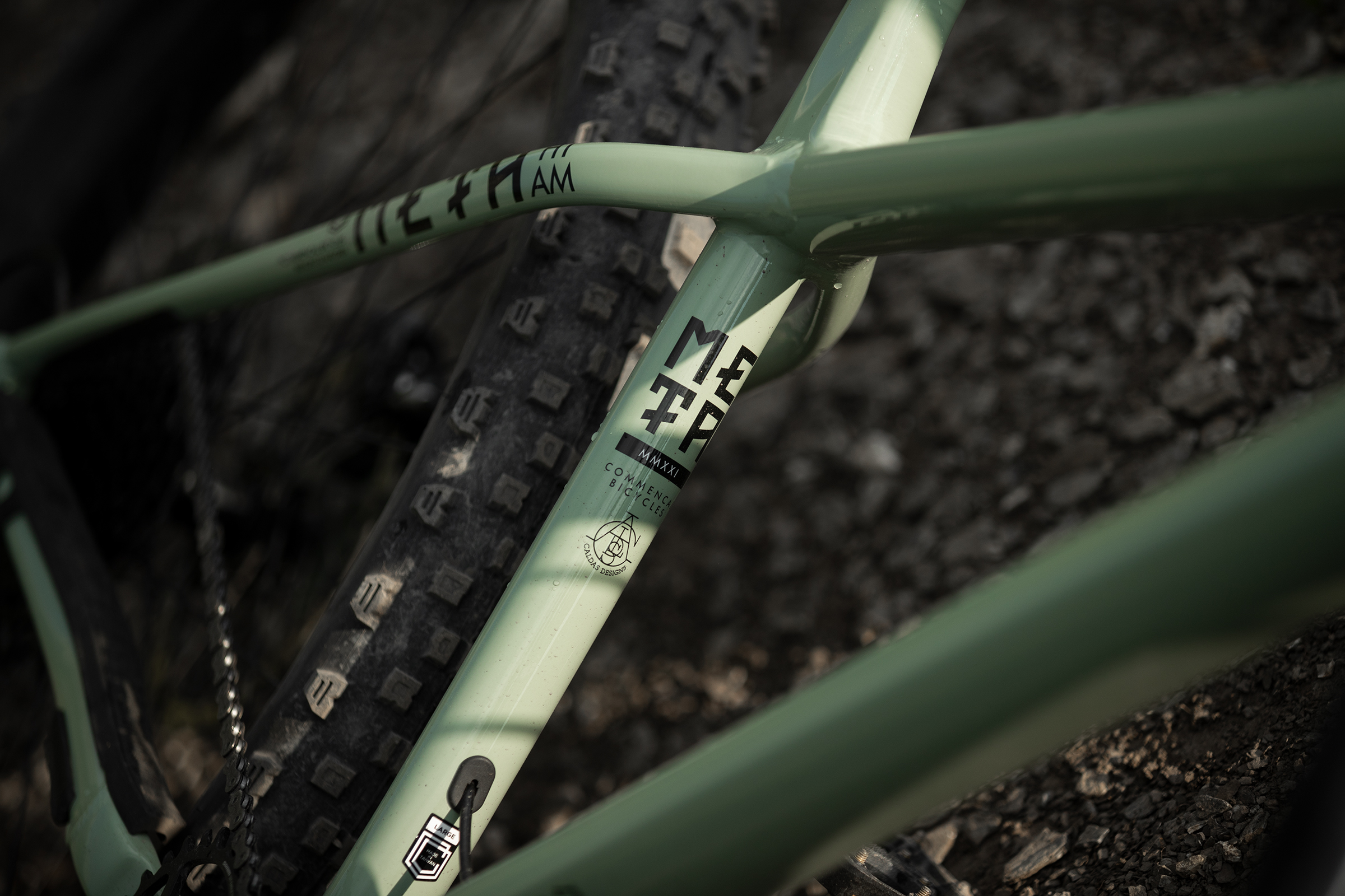 Finition Commencal Meta HT