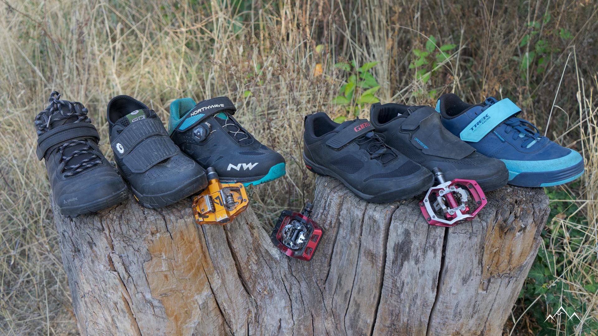 Comparatif chaussures pédales automatiques